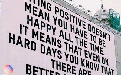 I'm happy to say…
